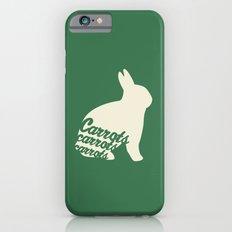Rabbit Loves Carrots iPhone 6 Slim Case