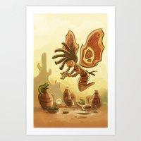 Goblins Drool, Fairies Rule! - Kokopelli Art Print