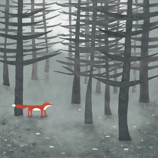 The Fox and the Forest Canvas Print