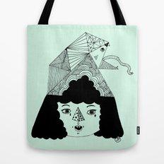 rainbowkitekidssnake Tote Bag