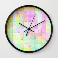 Re-Created 0 by Robert S. Lee Wall Clock