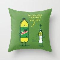 M'Soda Throw Pillow