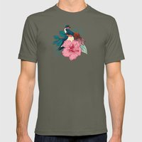 Barn Swallows Mens Fitted Tee Lieutenant SMALL