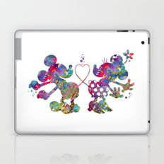 Mickey Loves Minnie Laptop & iPad Skin