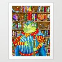 Rozologue Bagumphious, L… Art Print