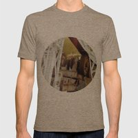 engine Mens Fitted Tee Tri-Coffee SMALL