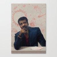 Neil Degrasse Tyson Portrait Canvas Print