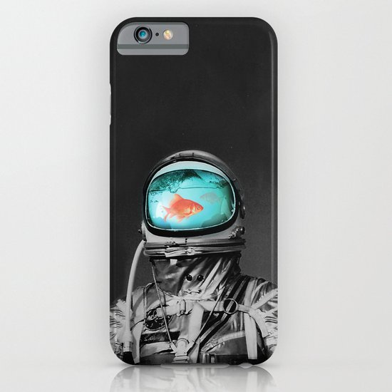Underwater astronaut iPhone & iPod Case