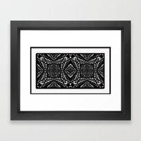 Tiki2 Framed Art Print