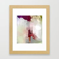 Stepping Out Framed Art Print