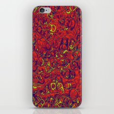 Ipad skins, Iphone, Computer, Canvas, Print, Red, Abstract, Funky iPhone & iPod Skin