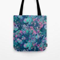 Geometric Floral Tote Bag