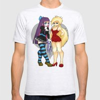 Panty & Stocking Mens Fitted Tee Ash Grey SMALL