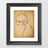 Madame Butterfly Framed Art Print