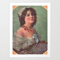 Josephine's Diamonds Art Print