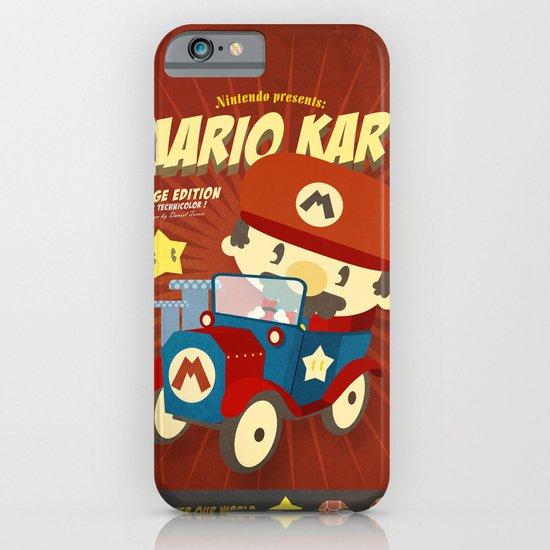 mario kart vintage iPhone & iPod Case