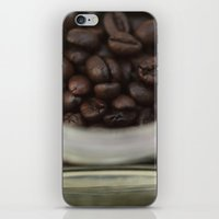Coffee beans in glass Jar - fine art - still life - interior decoration, for bar & coffeehouse iPhone & iPod Skin