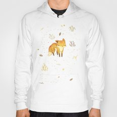 Lonely Winter Fox Hoody