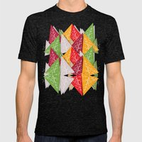 Oh Christmas Tree... Mens Fitted Tee Tri-Black SMALL