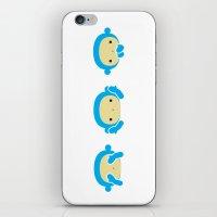 3 Wise Monkeys iPhone & iPod Skin