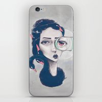 Rare Royal through the looking glass iPhone & iPod Skin