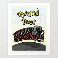 We On Award Tour Art Print