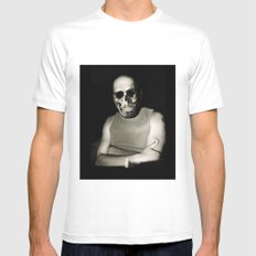 Rendez-vous#04 White Mens Fitted Tee SMALL