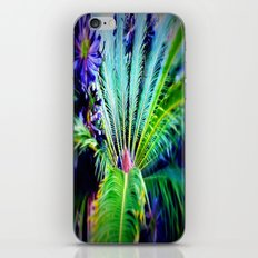Tropical Plants and Flowers iPhone & iPod Skin