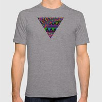 NEON Mens Fitted Tee Athletic Grey SMALL