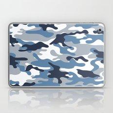 Blue and White Camo Laptop & iPad Skin