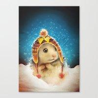Keep Me Warm Canvas Print