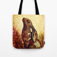 Moonstruck Hare Tote Bag