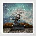 Bonsai Art Print