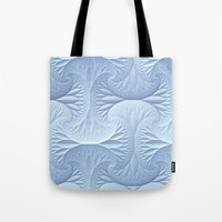 Snow Drifts Tote Bag