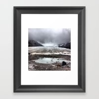 Glacial Pace Framed Art Print
