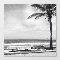 RIO B&W Canvas Print