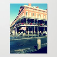 Canvas Print featuring New Orleans by Lindsey