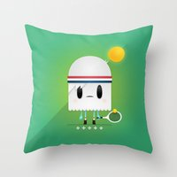 Match Point Throw Pillow