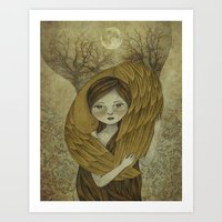 To Innocence Art Print