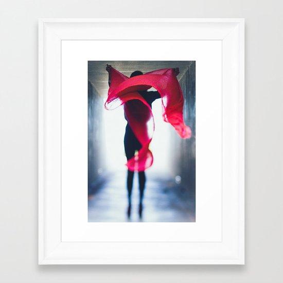 wind-swept Framed Art Print