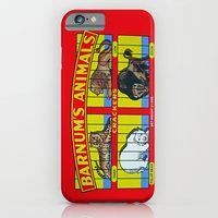 iPhone Cases featuring animal crackers by Shanna Dunn