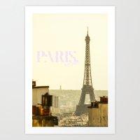 Paris, Bitches! Art Print