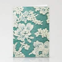 White Lace - Photo Of Vi… Stationery Cards