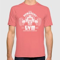 Lord Humungus' Gym Mens Fitted Tee Pomegranate SMALL