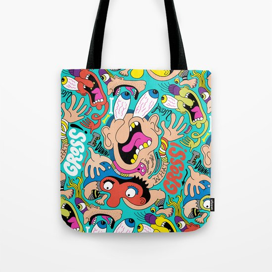 Weird Pattern Tote Bag