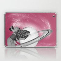 FLY ME TO THE SATURN Laptop & iPad Skin