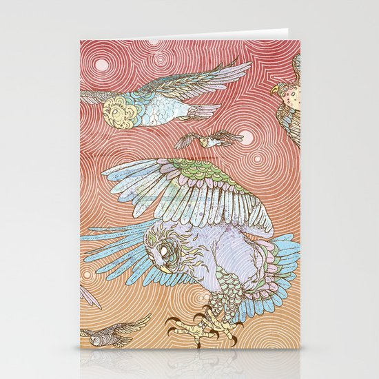 The Migration Stationery Card