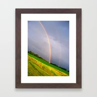 Some Where... Over The Rainbow Framed Art Print