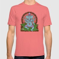 peace ganesh Mens Fitted Tee Pomegranate SMALL