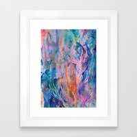 Coral Reef Framed Art Print